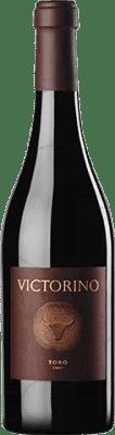 29,95 € Kostenloser Versand | Rotwein Teso La Monja Victorino D.O. Toro Kastilien und León Spanien Tempranillo Flasche 75 cl