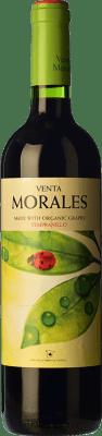 4,95 € Envío gratis | Vino tinto Volver Venta Morales Orgánico Joven D.O. La Mancha Castilla la Mancha y Madrid España Tempranillo Botella 75 cl