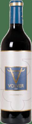 15,95 € Envío gratis | Vino tinto Volver Crianza D.O. La Mancha Castilla la Mancha y Madrid España Tempranillo Botella Mágnum 1,5 L