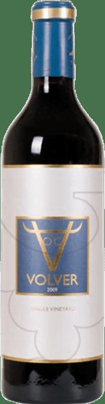 15,95 € Kostenloser Versand | Rotwein Volver Crianza D.O. La Mancha Castilla la Mancha y Madrid Spanien Tempranillo Magnum-Flasche 1,5 L