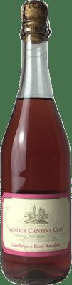 4,95 € Envío gratis | Espumoso rosado Ceci Antica D.O.C. Lambrusco di Sorbara Italia Lambrusco Botella 75 cl