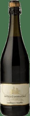 3,95 € Envío gratis | Espumoso tinto Ceci Antica D.O.C. Lambrusco di Sorbara Italia Lambrusco Botella 75 cl