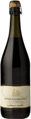 4,95 € Free Shipping | Red sparkling Ceci Antica D.O.C. Lambrusco di Sorbara Italy Lambrusco Bottle 75 cl