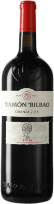 19,95 € Envoi gratuit | Vin rouge Ramón Bilbao Crianza D.O.Ca. Rioja La Rioja Espagne Tempranillo Bouteille Magnum 1,5 L