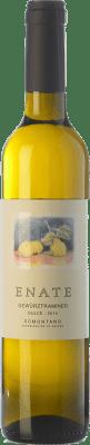 12,95 € Бесплатная доставка | Крепленое вино Enate сладкий D.O. Somontano Арагон Испания Gewürztraminer Половина бутылки 50 cl