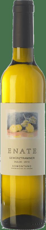 12,95 € Free Shipping | Fortified wine Enate Sweet D.O. Somontano Aragon Spain Gewürztraminer Half Bottle 50 cl