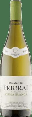 36,95 € Envío gratis | Vino blanco Mas d'en Gil Coma Blanca Crianza D.O.Ca. Priorat Cataluña España Botella 75 cl