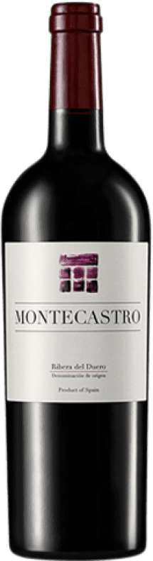 18,95 € Free Shipping | Red wine Montecastro D.O. Ribera del Duero Castilla y León Spain Tempranillo, Merlot, Cabernet Sauvignon Bottle 75 cl
