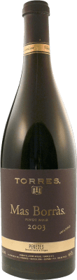 31,95 € Free Shipping | Red wine Torres Mas Borras D.O. Penedès Catalonia Spain Pinot Black Bottle 75 cl