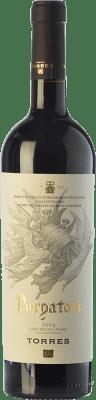 25,95 € Free Shipping | Red wine Torres Purgatori Crianza D.O. Costers del Segre Catalonia Spain Syrah, Grenache, Mazuelo, Carignan Bottle 75 cl