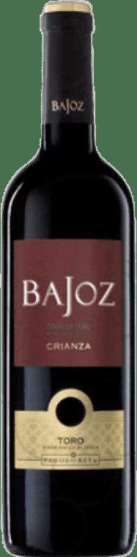 4,95 € Free Shipping | Red wine Pagos del Rey Bajoz Crianza D.O. Toro Castilla y León Spain Tempranillo Bottle 75 cl
