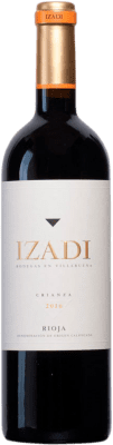 9,95 € Free Shipping | Red wine Izadi Crianza D.O.Ca. Rioja The Rioja Spain Tempranillo Bottle 75 cl