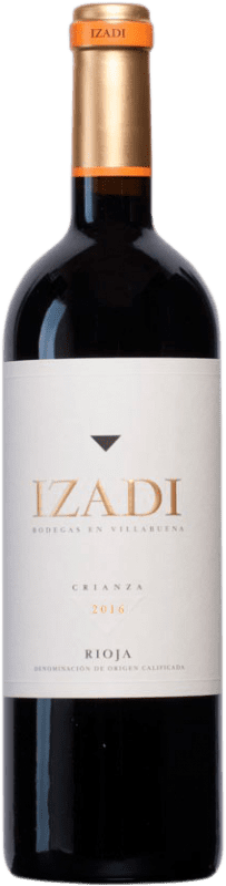 8,95 € Envío gratis | Vino tinto Izadi Crianza D.O.Ca. Rioja La Rioja España Tempranillo Botella 75 cl