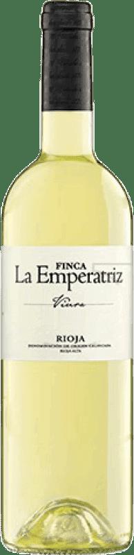 6,95 € Envío gratis | Vino blanco Hernáiz Finca La Emperatriz Joven D.O.Ca. Rioja La Rioja España Viura Botella 75 cl