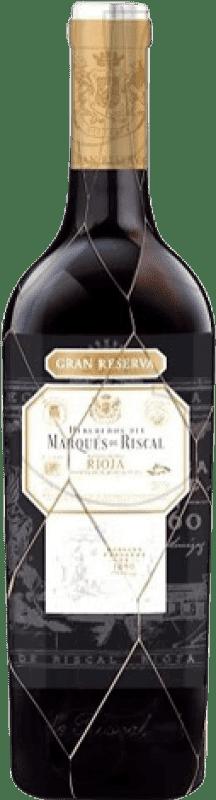 39,95 € Envoi gratuit   Vin rouge Marqués de Riscal Gran Reserva D.O.Ca. Rioja La Rioja Espagne Tempranillo, Graciano, Mazuelo, Carignan Bouteille 75 cl