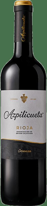 7,95 € Free Shipping | Red wine Campo Viejo Azpilicueta Crianza D.O.Ca. Rioja The Rioja Spain Tempranillo, Graciano, Mazuelo, Carignan Bottle 75 cl