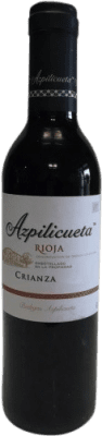 6,95 € Free Shipping | Red wine Campo Viejo Azpilicueta Crianza D.O.Ca. Rioja The Rioja Spain Tempranillo, Graciano, Mazuelo, Carignan Half Bottle 37 cl