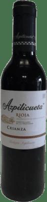 4,95 € Kostenloser Versand | Rotwein Campo Viejo Azpilicueta Crianza D.O.Ca. Rioja La Rioja Spanien Tempranillo, Graciano, Mazuelo, Carignan Halbe Flasche 37 cl