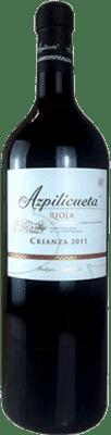 34,95 € Kostenloser Versand | Rotwein Campo Viejo Azpilicueta Crianza D.O.Ca. Rioja La Rioja Spanien Tempranillo, Graciano, Mazuelo, Carignan Jéroboam Flasche-Doppel Magnum 3 L