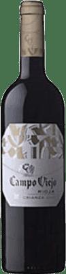 Red wine Campo Viejo CV Crianza D.O.Ca. Rioja The Rioja Spain Tempranillo, Grenache, Graciano Bottle 75 cl