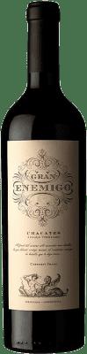 119,95 € Envío gratis | Vino tinto Aleanna Gran Enemigo Chacayes Argentina Cabernet Franc, Malbec Botella 75 cl