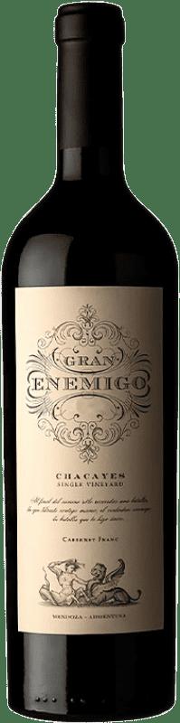 119,95 € Envoi gratuit | Vin rouge Aleanna Gran Enemigo Chacayes Argentine Cabernet Franc, Malbec Bouteille 75 cl