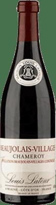 13,95 € Envío gratis | Vino tinto Louis Latour A.O.C. Beaujolais-Villages Francia Cabernet Franc, Gamay Botella 75 cl