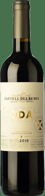 9,95 € Envoi gratuit | Vin rouge Castell del Remei Oda Crianza D.O. Costers del Segre Catalogne Espagne Tempranillo, Merlot, Cabernet Sauvignon Bouteille 75 cl
