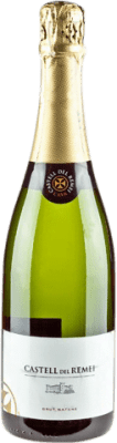8,95 € Envío gratis | Espumoso blanco Castell del Remei Brut Nature Reserva D.O. Cava Cataluña España Macabeo, Xarel·lo, Parellada Botella 75 cl
