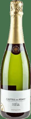 8,95 € Kostenloser Versand | Weißer Sekt Castell del Remei Brut Natur Reserva D.O. Cava Katalonien Spanien Macabeo, Xarel·lo, Parellada Flasche 75 cl