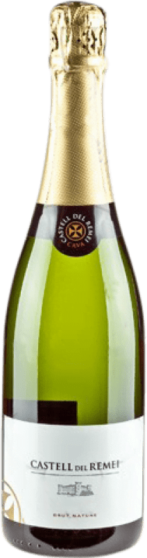 9,95 € 免费送货   白起泡酒 Castell del Remei Brut Nature Reserva D.O. Cava 加泰罗尼亚 西班牙 Macabeo, Xarel·lo, Parellada 瓶子 75 cl