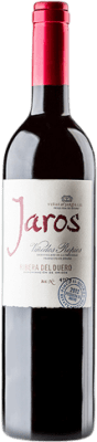 25,95 € Free Shipping | Red wine Viñas del Jaro Jaros Crianza D.O. Ribera del Duero Castilla y León Spain Tempranillo, Merlot, Cabernet Sauvignon Magnum Bottle 1,5 L