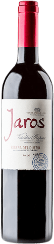 26,95 € Envoi gratuit | Vin rouge Viñas del Jaro Jaros Crianza D.O. Ribera del Duero Castille et Leon Espagne Tempranillo, Merlot, Cabernet Sauvignon Bouteille Magnum 1,5 L