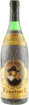 127,95 € Free Shipping | Red wine Faustino I Gran Reserva 1964 D.O.Ca. Rioja The Rioja Spain Tempranillo, Graciano, Mazuelo, Carignan Bottle 75 cl
