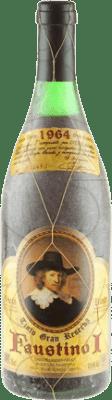 145,95 € Envoi gratuit | Vin rouge Faustino I Gran Reserva 1964 D.O.Ca. Rioja La Rioja Espagne Tempranillo, Graciano, Mazuelo, Carignan Bouteille 75 cl