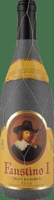 18,95 € Envoi gratuit | Vin rouge Faustino I Gran Reserva D.O.Ca. Rioja La Rioja Espagne Tempranillo, Graciano, Mazuelo, Carignan Bouteille 75 cl