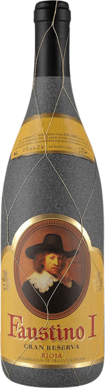 18,95 € Free Shipping | Red wine Faustino I Gran Reserva D.O.Ca. Rioja The Rioja Spain Tempranillo, Graciano, Mazuelo, Carignan Bottle 75 cl