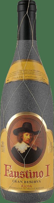 18,95 € Envío gratis | Vino tinto Faustino I Gran Reserva D.O.Ca. Rioja La Rioja España Tempranillo, Graciano, Mazuelo, Cariñena Botella 75 cl