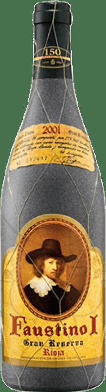 23,95 € Envoi gratuit | Vin rouge Faustino I Especial Gran Reserva D.O.Ca. Rioja La Rioja Espagne Tempranillo, Graciano, Mazuelo, Carignan Bouteille 75 cl