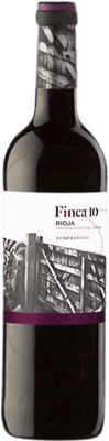 3,95 € Free Shipping | Red wine Faustino Finca 10 Joven D.O.Ca. Rioja The Rioja Spain Bottle 75 cl