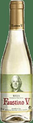 2,95 € Envoi gratuit | Vin blanc Faustino V Joven D.O.Ca. Rioja La Rioja Espagne Macabeo Demi Bouteille 37 cl