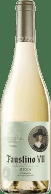 4,95 € Envoi gratuit | Vin blanc Faustino VII Joven D.O.Ca. Rioja La Rioja Espagne Macabeo Bouteille 75 cl