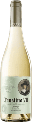 4,95 € Free Shipping | White wine Faustino VII Joven D.O.Ca. Rioja The Rioja Spain Macabeo Bottle 75 cl