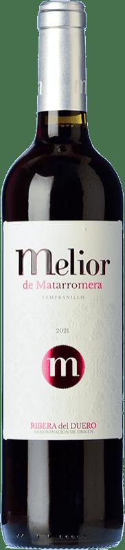 7,95 € Envío gratis | Vino tinto Matarromera Melior D.O. Ribera del Duero Castilla y León España Botella 75 cl