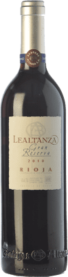17,95 € Free Shipping | Red wine Lealtanza Gran Reserva 2010 D.O.Ca. Rioja The Rioja Spain Tempranillo Bottle 75 cl
