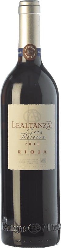 14,95 € Free Shipping | Red wine Altanza Lealtanza Gran Reserva D.O.Ca. Rioja The Rioja Spain Tempranillo Bottle 75 cl