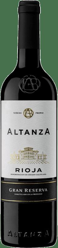 14,95 € Envío gratis | Vino tinto Altanza Lealtanza Gran Reserva D.O.Ca. Rioja La Rioja España Tempranillo Botella 75 cl