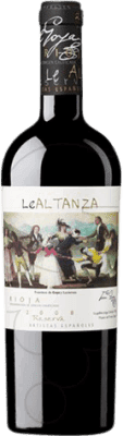 41,95 € Free Shipping | Red wine Lealtanza Artistas Españoles Goya Reserva 2010 D.O.Ca. Rioja The Rioja Spain Tempranillo Bottle 75 cl