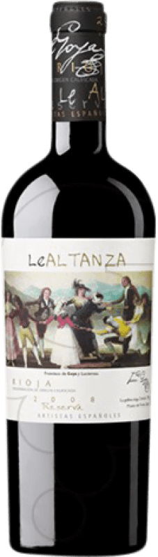 31,95 € Free Shipping | Red wine Altanza Lealtanza Artistas Españoles Goya Reserva D.O.Ca. Rioja The Rioja Spain Tempranillo Bottle 75 cl