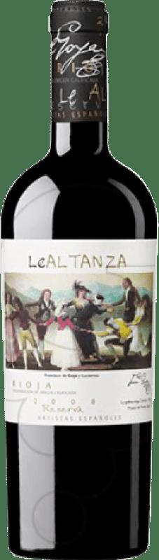31,95 € Envoi gratuit | Vin rouge Altanza Lealtanza Artistas Españoles Goya Reserva D.O.Ca. Rioja La Rioja Espagne Tempranillo Bouteille 75 cl